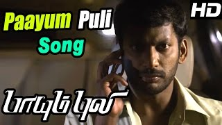 Paayum Puli Tamil Movie | Scenes | Paayum Puli Video Song | D Imman | Vishal | Samuthirakani | Soori