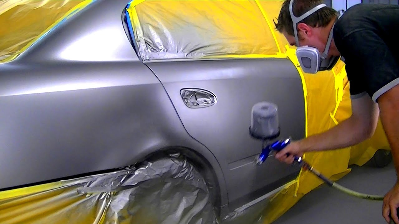 How To Paint A Car Door With Spray Can
