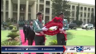 Ahsan Iqbal lauds Rangers for restoring peace in Karachi
