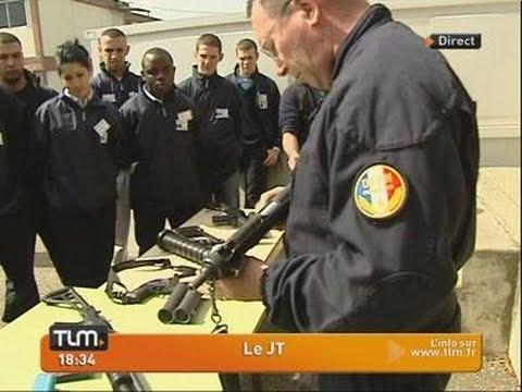 Les jeunes découvrent la police nationale (Lyon)