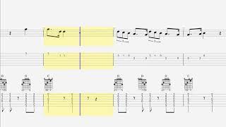 Download Lagu Guitar Tab - Notes - Chords - Zedd, Grey - The Middle,  Maren Morris Gratis STAFABAND