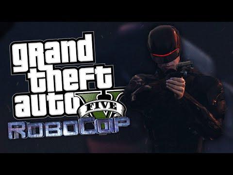 ROBOCOP MOD! | GTA 5 Mod Moment Lucu (Bahasa Indonesia)