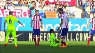 Neymar Junior vs Atletico Madrid Away HD 1080i 17 May 2015