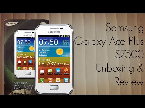 Samsung Galaxy Ace Plus S7500 Unboxing & Review - Android Sm...