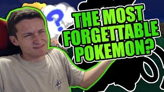 Who is the Most Forgotten Pokemon?