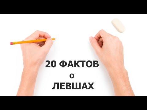 20 ФАКТОВ о ЛЕВШАХ