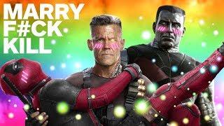 Deadpool 2 Cast Plays F*ck, Marry, Kill (Ryan Reynolds, Terry Crews & More)