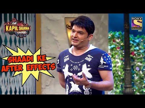 Kapil Explains Shaadi Ke After Effects - The Kapil Sharma Show thumbnail