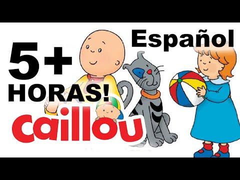 Caillou en Español - Dibujos Infantiles (5 Horas!) Capitulos Completos
