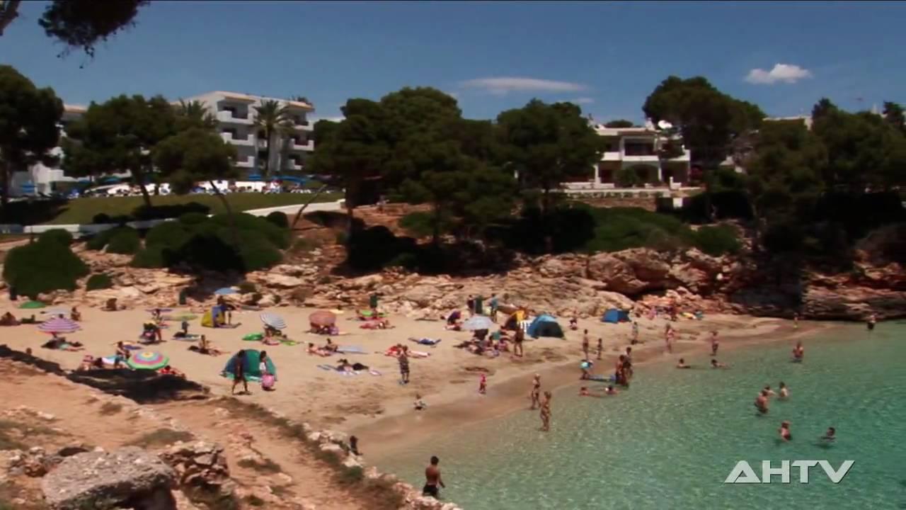 Cala Esmeralda (Cala d`Or) Mallorca HD - YouTube