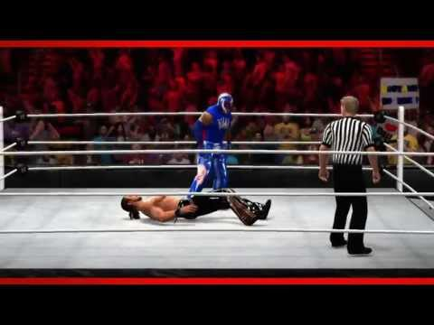 Rey Mysterio WWE 2K14 Entrance and Finisher (Official)