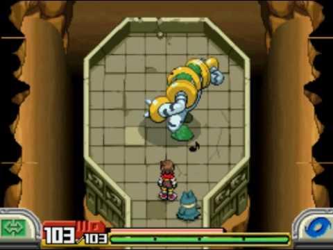 Pokemon Ranger Shadows Of Almia Capture Regigigas Youtube