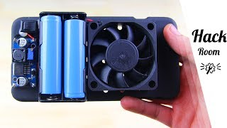 How To Make Cooling Fan for your Phone   by Hack Room