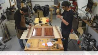 Art Kieres Furniture - Panel Dry Fit & Glue-Up Time Lapse (15 minutes real time)