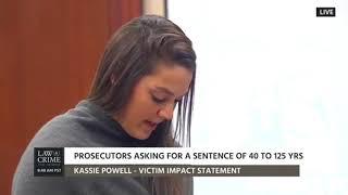 Kassie and Doug Powell - Impact Statements - Inmate Nassar Sentencing Hearing - Day 4 - 01/19/18