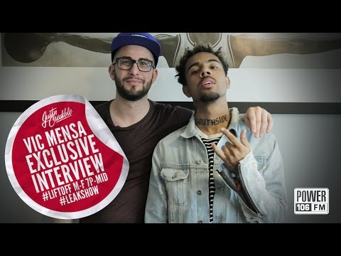 Vic Mensa Talks Signing To Jay Z, Working With Kanye West + More.