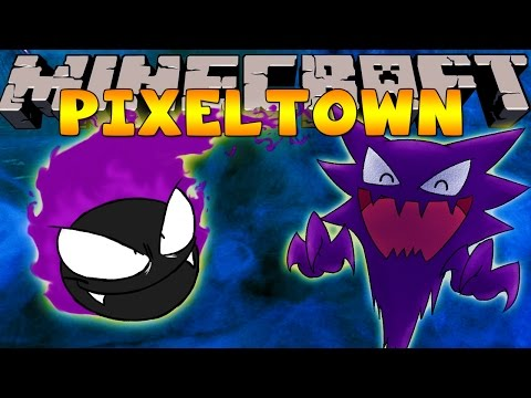 Minecraft Pixelmon Adventure -  PIXELTOWN -  'A GHASTLY SITUATION!' #12