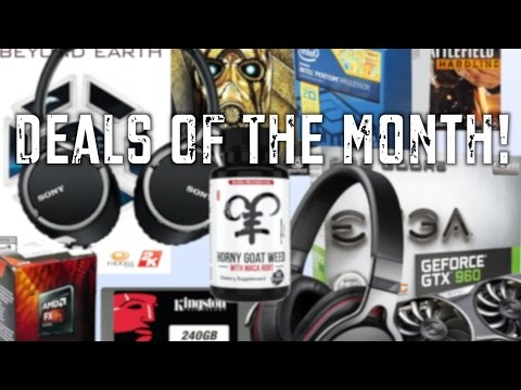 The Best PC & Tech Deals of the Month! (March 2015)