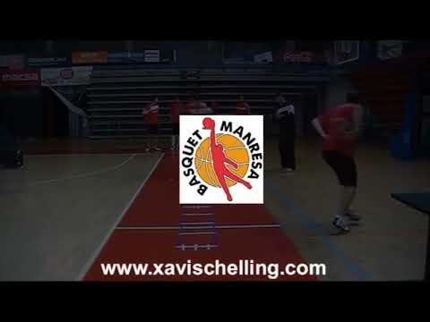 Trabajo de Pies en Baloncesto Profesional (www.xavischelling.com)