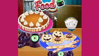 best games  Cooking Halloween Food new online cooking game 2019