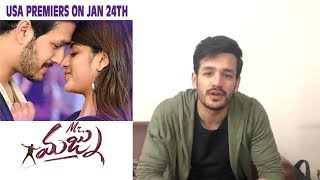 Akhil Akkineni ‏Invites Audiences to #MrMajnu in USA Premieres on 24th Jan in 172+ theatres