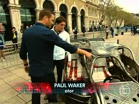 Auto Esporte entrevista Vin Diesel e Paul Walker