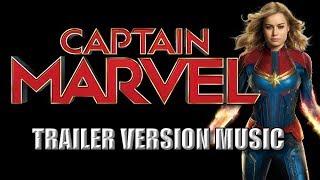 CAPTAIN MARVEL Trailer Music Version   Proper Movie Teaser Trailer Theme Song