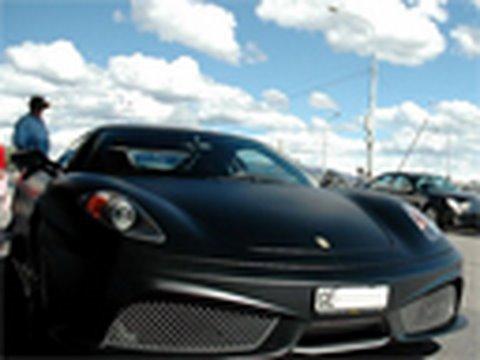 2 x Ferrari 430 Scuderia vs Kelleners Sport BMW M6: M6BOARD.com