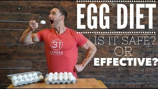 The Egg Diet: Is it Safe to Eat ONLY Eggs on Keto