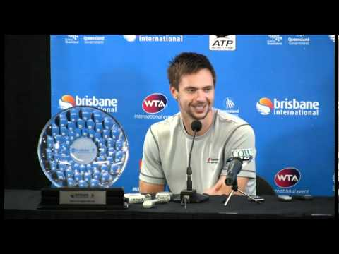 Robin Soderling and アンディ ロディック men's 決勝戦(ファイナル) ists press conference