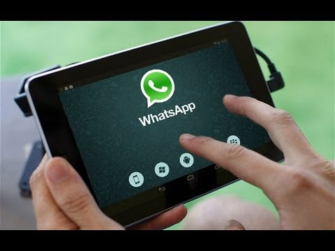 WhatsApp on Android Tablet (Nexus 7. Nexus 10. Galaxy Tab)