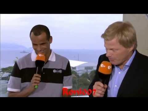 WM 2014 :Oliver Kahn trifft auf Rivaldo WM Finale 2002 - (Brasilien vs.Deutschland 1:7 )