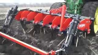 Demonstration and testing Quivogne SSD R7 & John Deere 8420T  Ландтехник  2014 г. HD