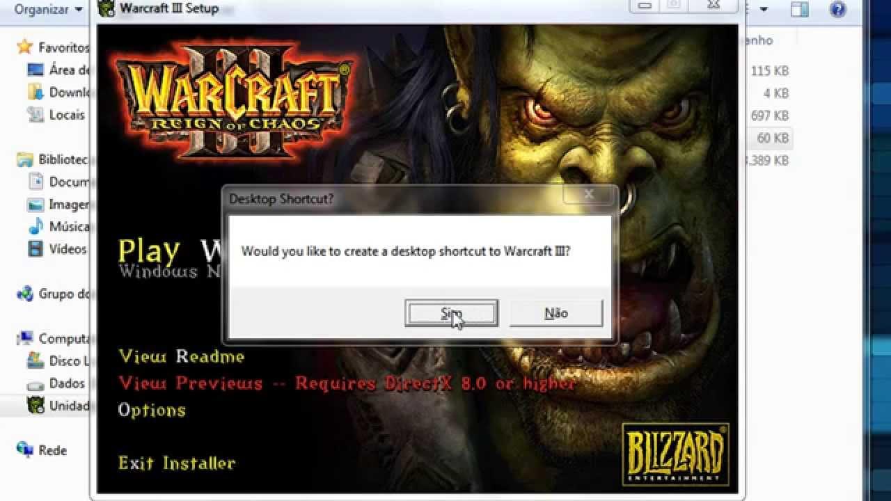 Download warcraft 3 frozen throne no install