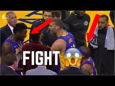 NBA Teammate Fights/Arguments
