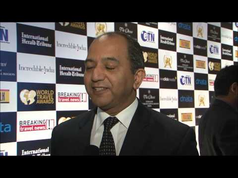 Sushil Gordon, general manager, Airways Hotel, Papua New Guinea, at World Travel Awards Grand Final