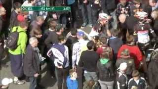 fabian cancellara falls in Tour of Flanders 2012 :-(