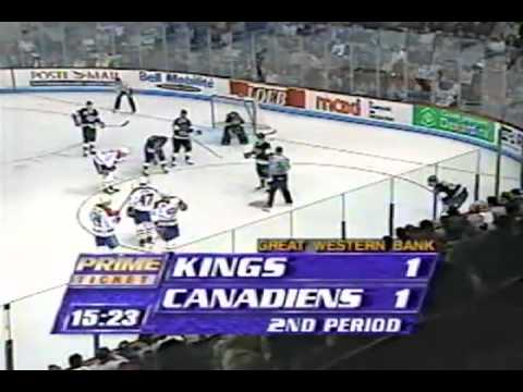 Stanley Cup 1993 - Los Angeles Kings vs Montreal Canadien Game 1