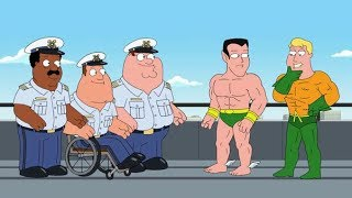 Aquaman Shows Off to Peter - Family Guy