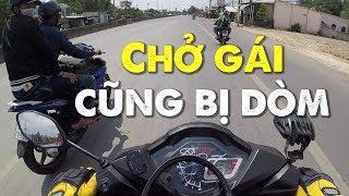 Tình hình GIAO THÔNG khi phượt Vũng Tàu ngày lễ 30/4 | MinC Motovlog
