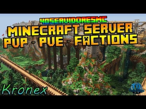 40sMC | Minecraft Server PvP - PvE y Factions | Premium - No hamachi - 24/7 Kronex