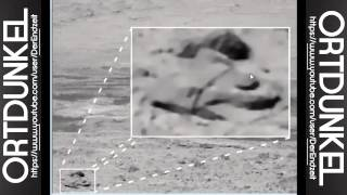 Alien craft (UFO) discovery on mars Dec 2013