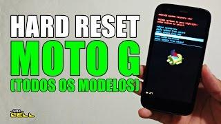 Hard Reset no Moto G (Todos os modelos) #UTICell