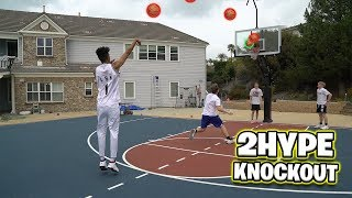 2HYPE KNOCKOUT BASKETBALL TOURNAMENT! ft. Tristan Jass & Moochie
