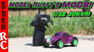 1/32 RC MICRO RC CAR virhuck moded upgraded by model nutty