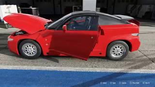 FORZA Motorsport 7 - 1990 Alfa Romeo SZ Sprint Zagato - Car Show Speed Crash Test .