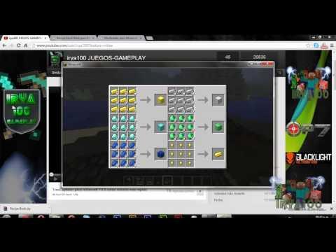 Recipe Book Mod para Minecraft 1.4.4 modloader y forge