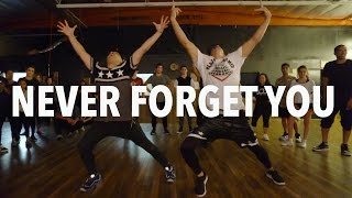 NEVER FORGET YOU Pt 2 Zara Larsson Dance Matt Steffanina D Trix
