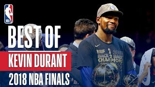 Kevin Durant's Best Plays From The 2018 NBA Finals | NBA Finals MVP