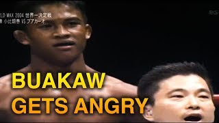 BUAKAW GETS ANGRY BECAUSE OF RULE BREAKING